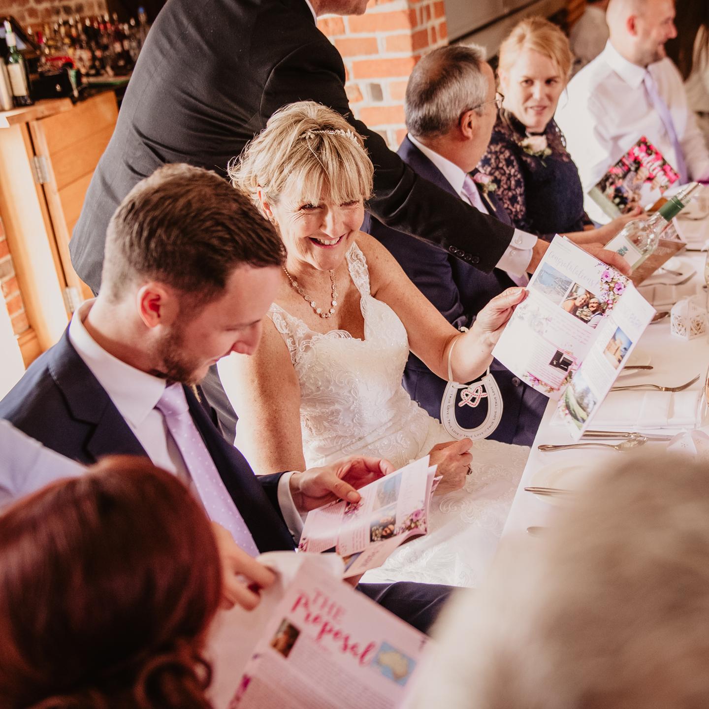 A Beautiful Personalised Wedding Magazine